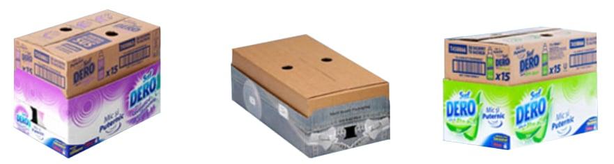 Imballaggio in cartoncino