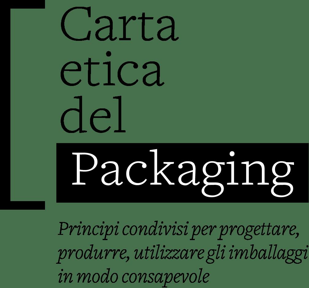 Logo Carta etica del packaging