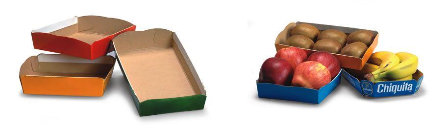 Vaschette in cartoncino per frutta