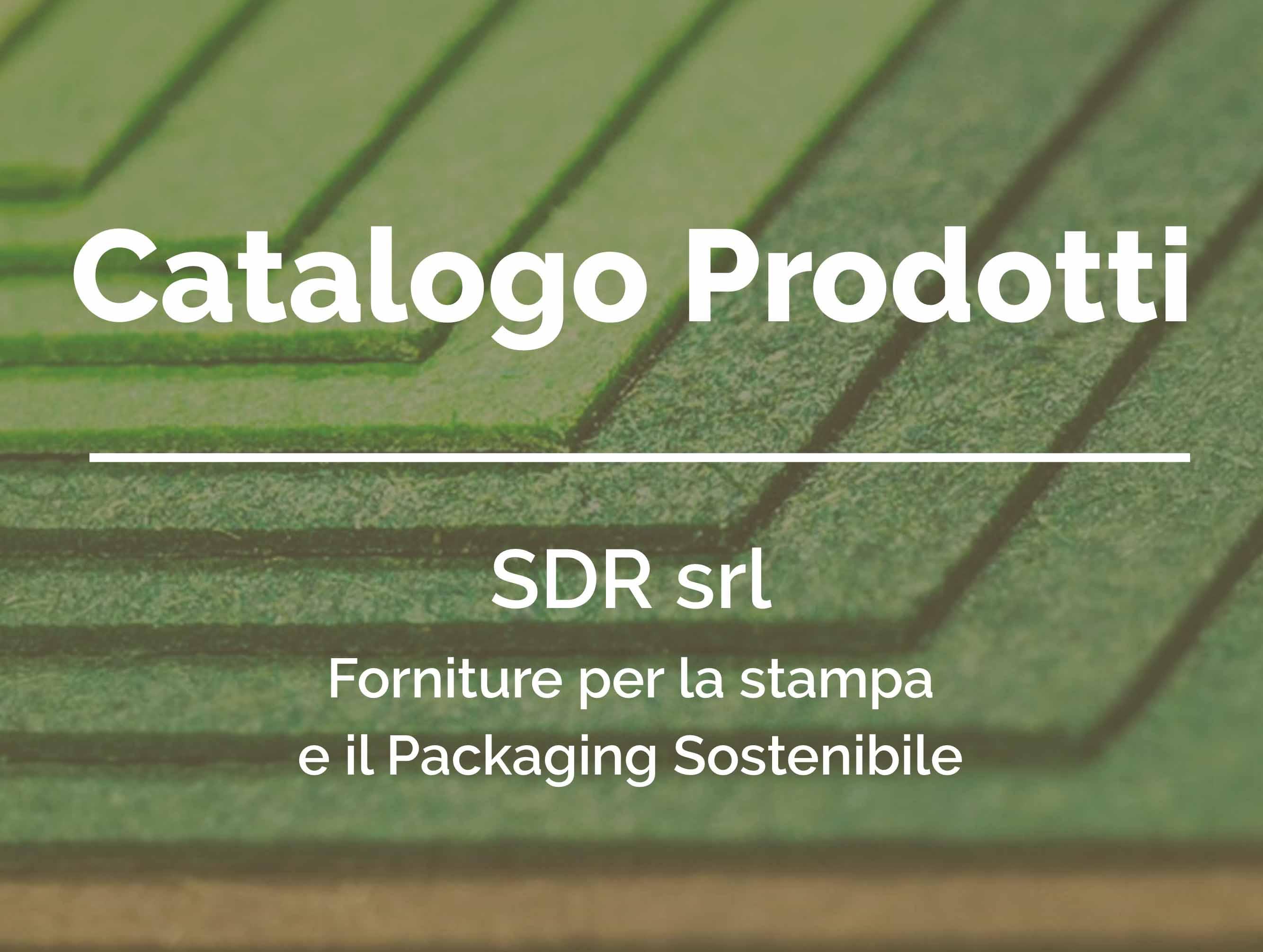 catalogo prodotti SDR srl