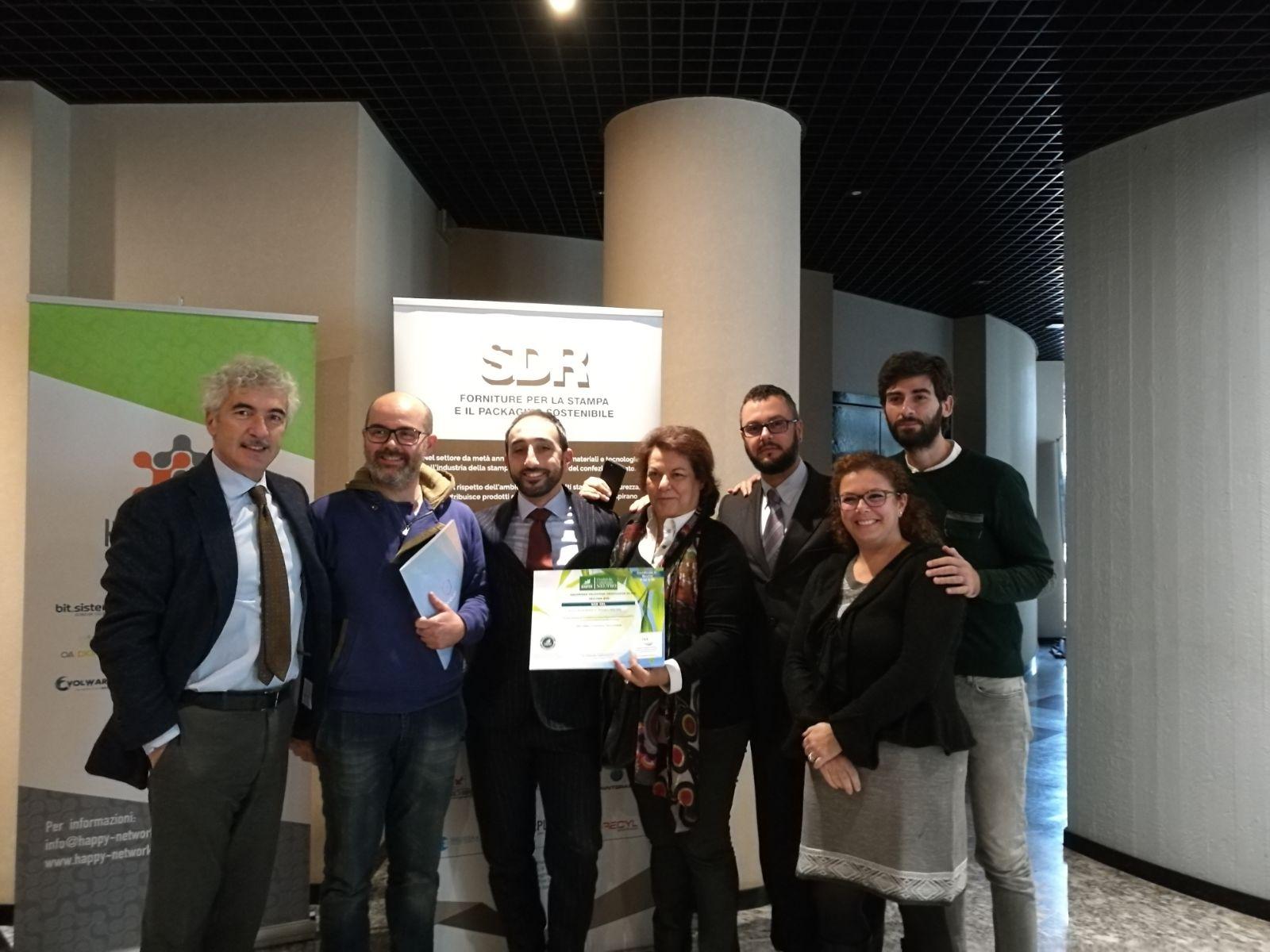 certificazione carbonio neutralità - team SDR srl