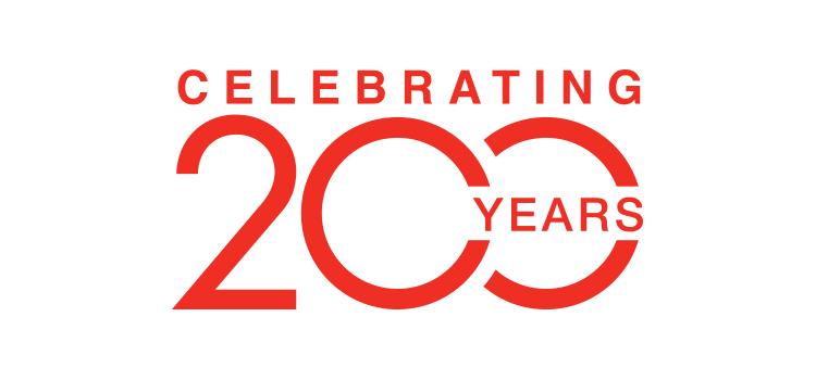 "Logo ""Celebrating 200 years"" di SunChemical"