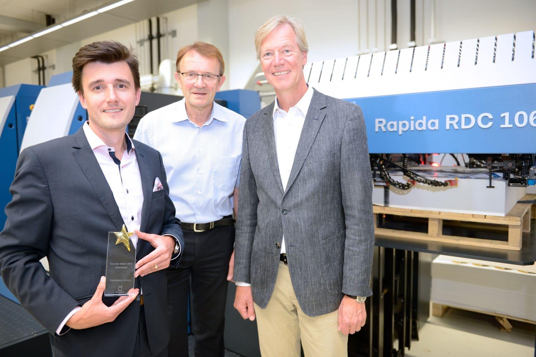 Rapida RDC 106 - Edelmann Supplier Award categoria Innovazione