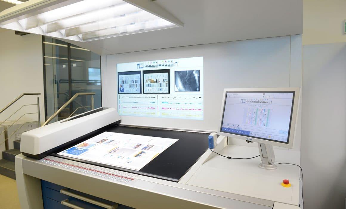 QualiTronic NextGeneration - pannello di controllo integrato nel sistema di gestione ErgoTronic