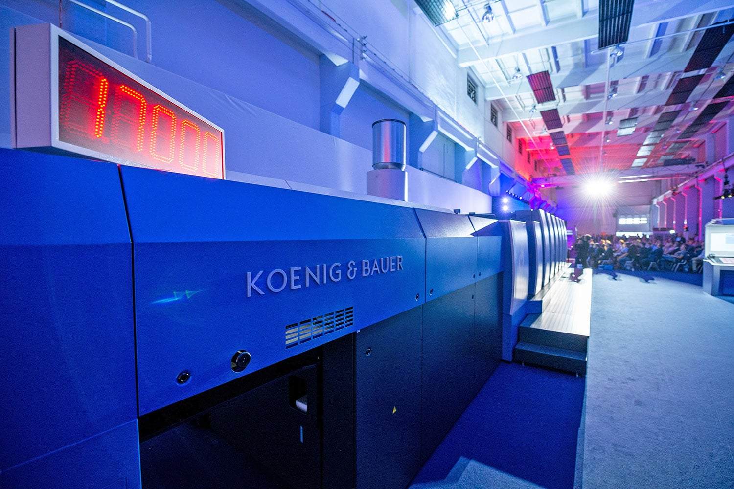 Koenig & Bauer 4.0 – Packaging & Connected Services - velocità di stampa a 17.000 fogli/ora