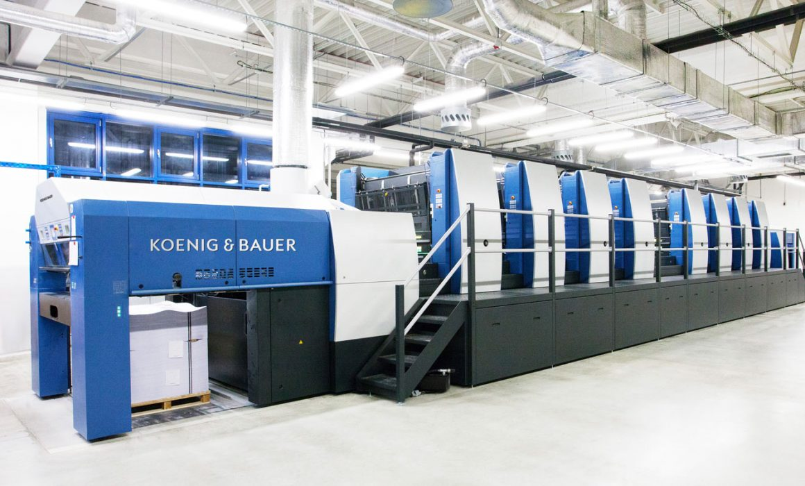 Macchina da stampa Koenig & Bauer
