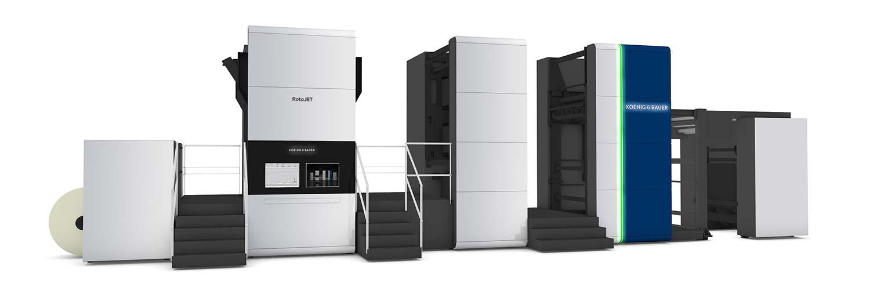 Tetra Pak offrirà nuovi livelli di personalizzazione e flessibilità con la tecnologia di stampa digitale in partnership con Koenig & Bauer - RotaJET 168.