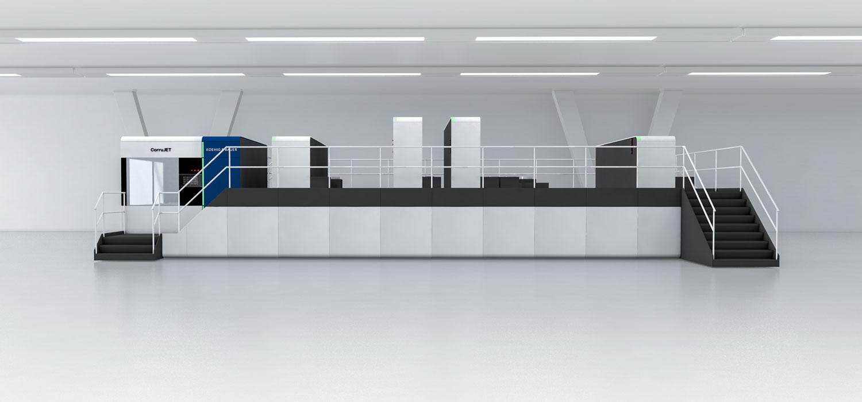 CorruJET Koenig & Bauer - stampa digitale del cartone ondulato