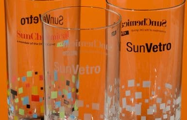 SunVetro - Inchiosrti serigrafici per vetro Sun Chemical