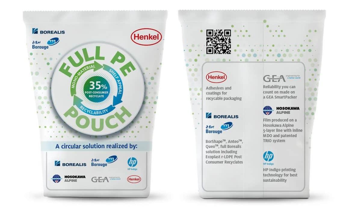 Sacco in plastica Henkel Borealis