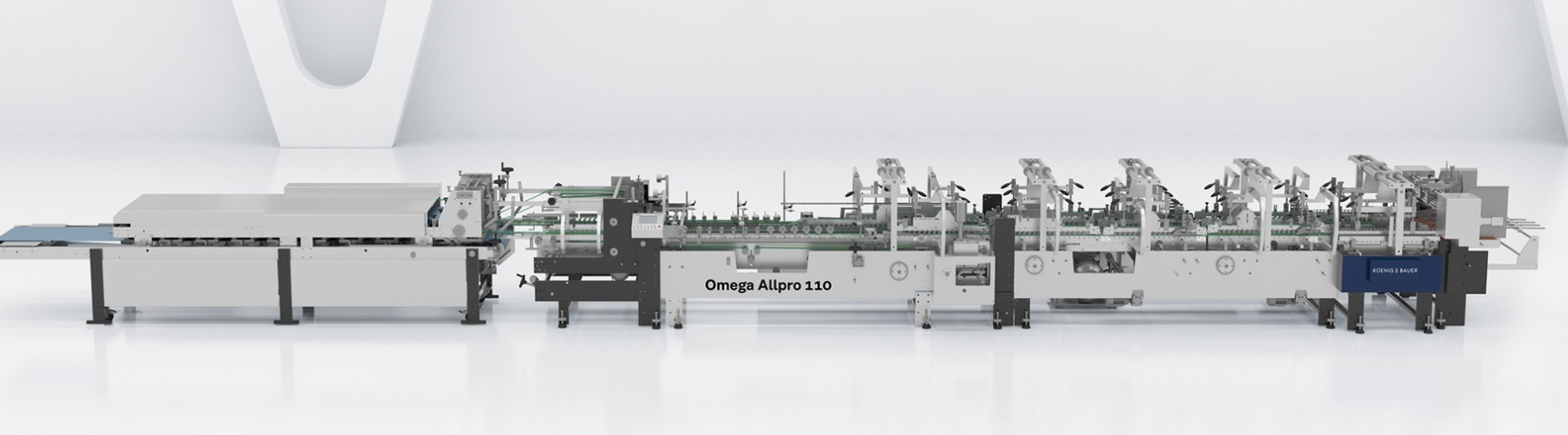 Omega Allpro di Duran - Piegaincolla Koenig & Bauer Duran