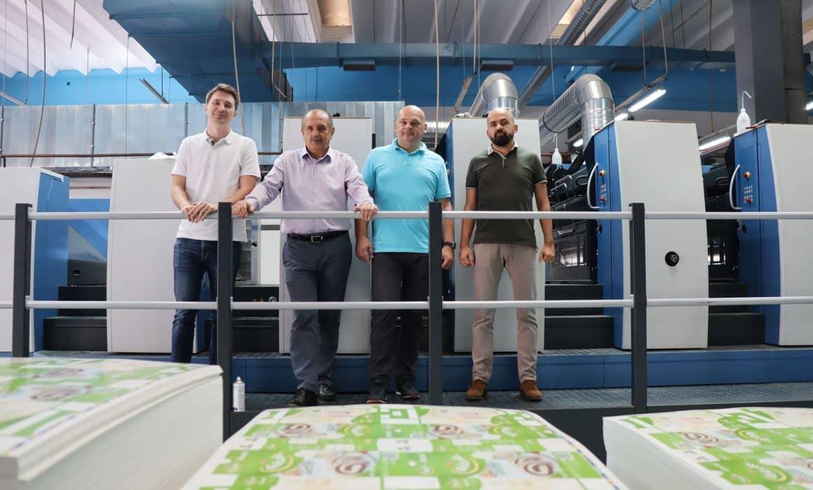 Rapida 105 PRO di Koenig & Bauer - il management team di Graficar