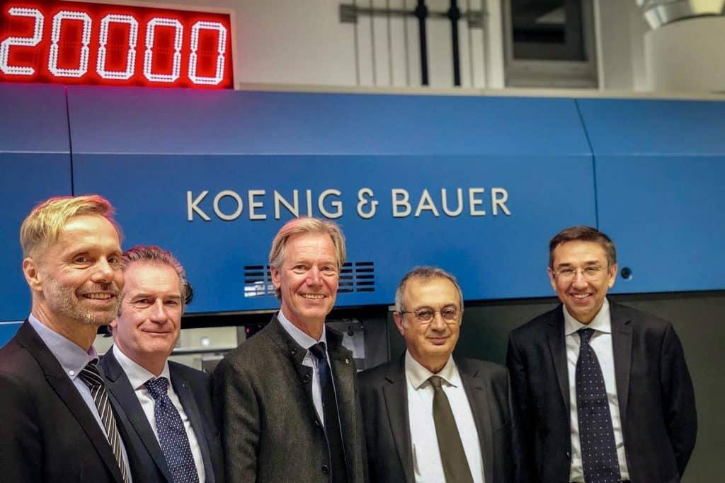 Con l'acquisizione di Duran Machinery, Koenig & Bauer espande ulteriormente le sue attività nel mercato sempre più in crescita del packaging