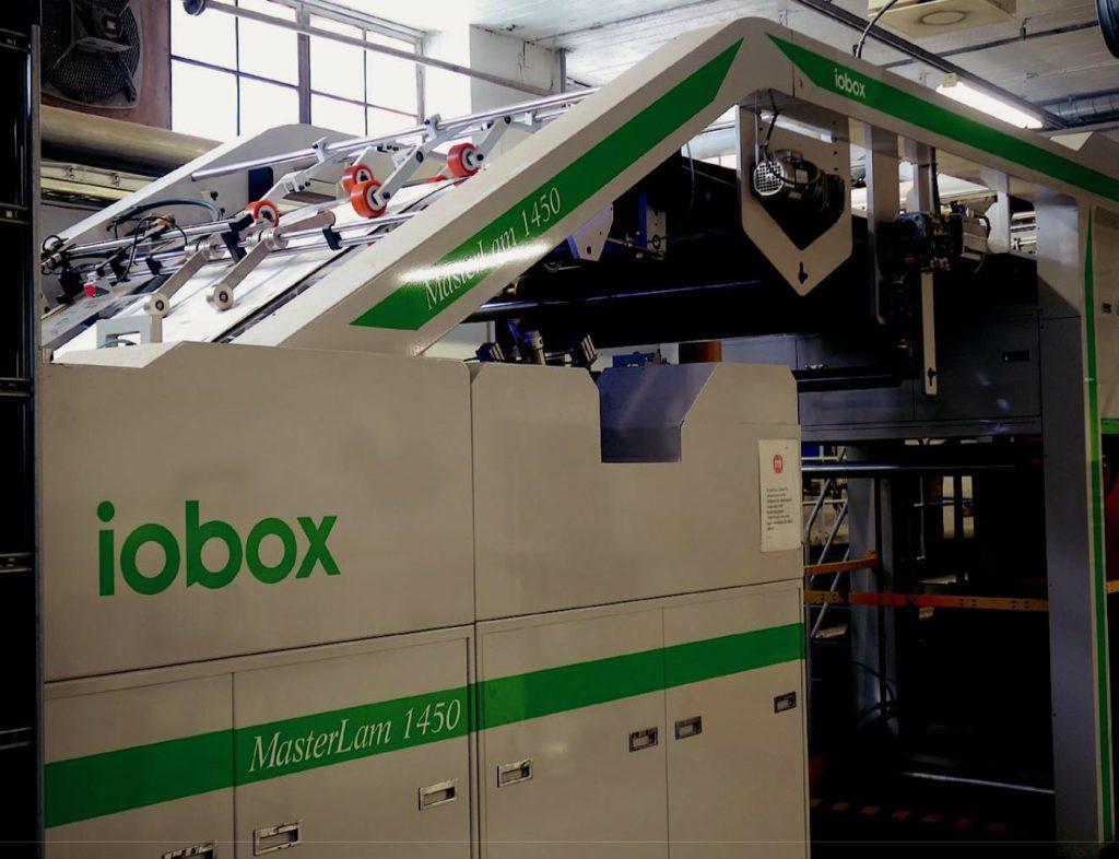 La IOBox MasterLam 1450, installata nel 2013.