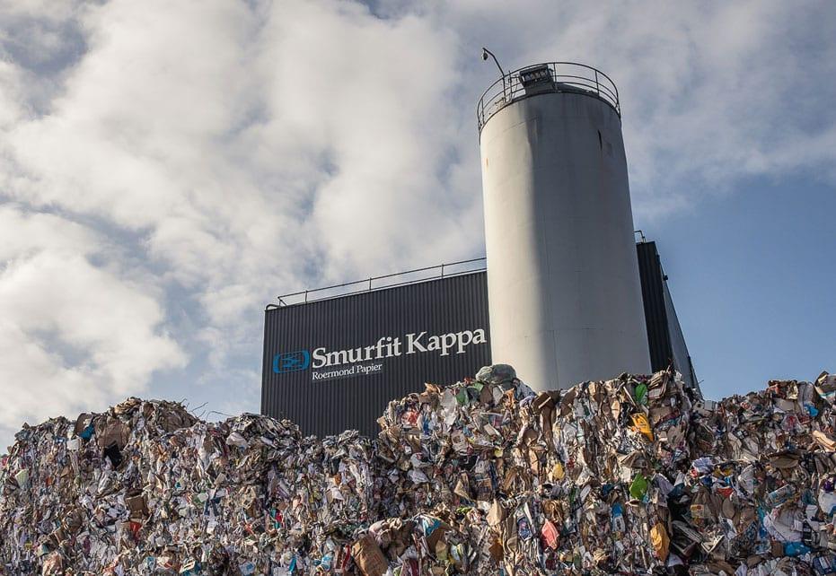 Impianto di riciclaggio della carta