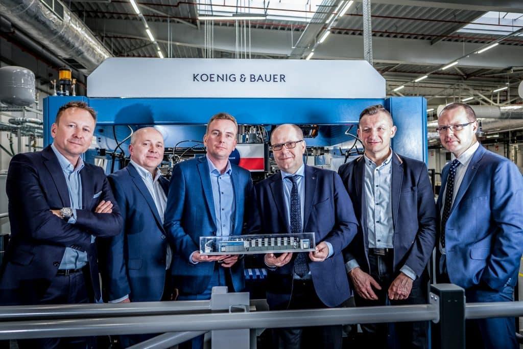 Inaugurazione ufficiale della Rapida 164 presso Werner Kenkel