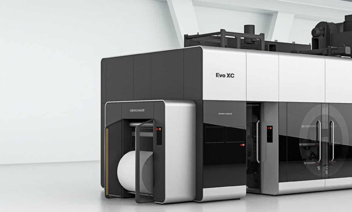 EVO XC macchina da stampa flessografica