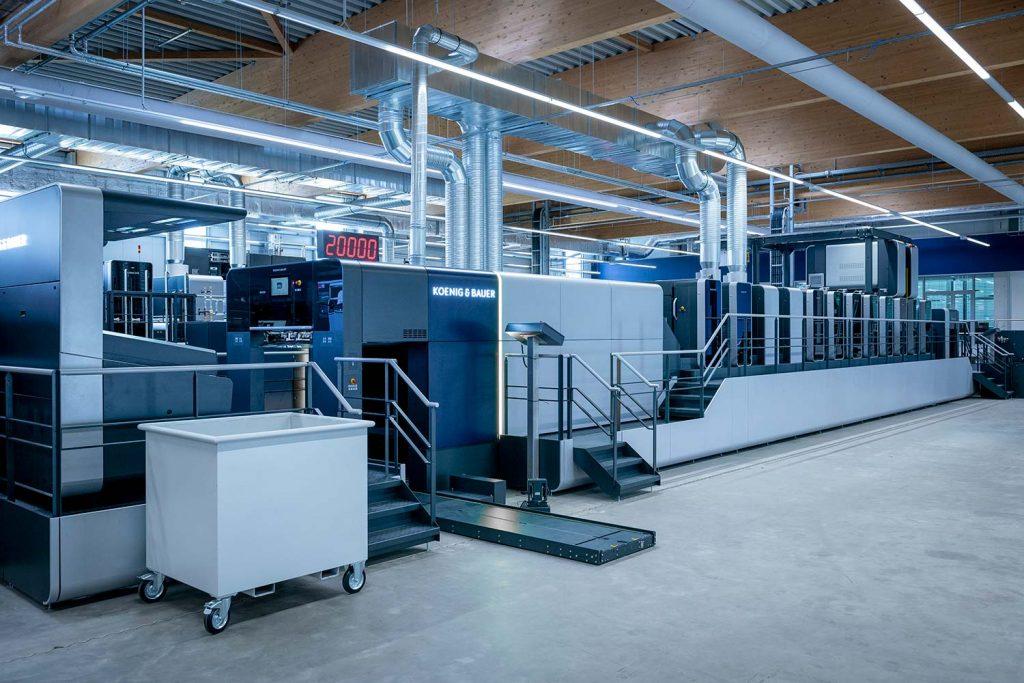 Rapida 106 X e la produzione del packaging