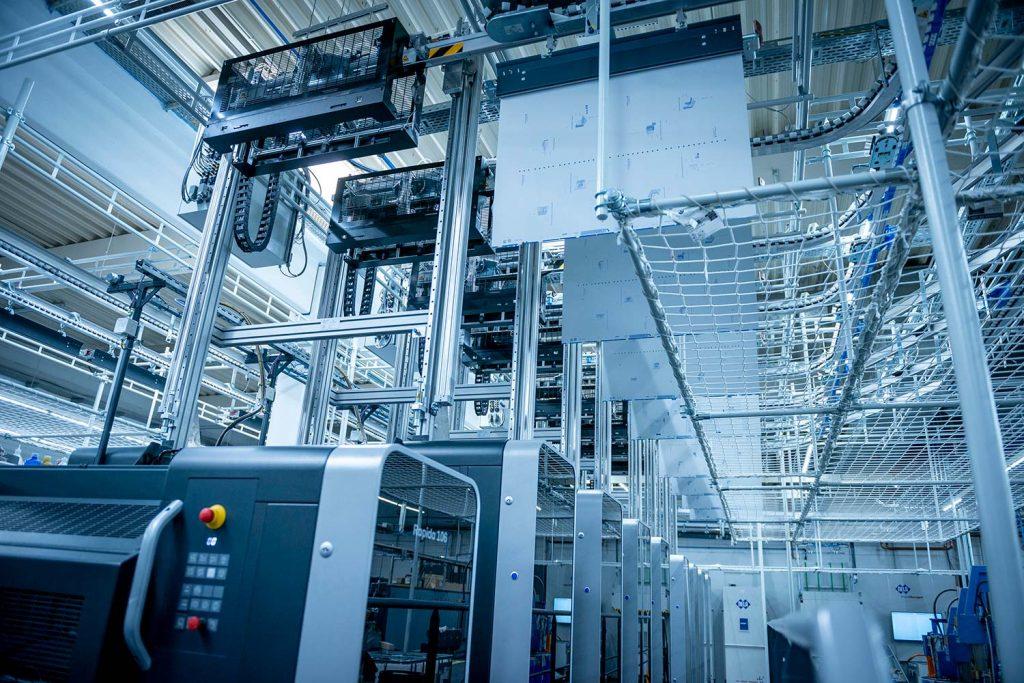 Nuovo Impianto cambia lastre PlateTronic