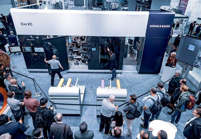 Presentazione della EVO XC di Koenig & Bauer Flexotecnica
