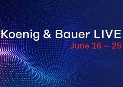 Logo Koenig & Bauer LIVE