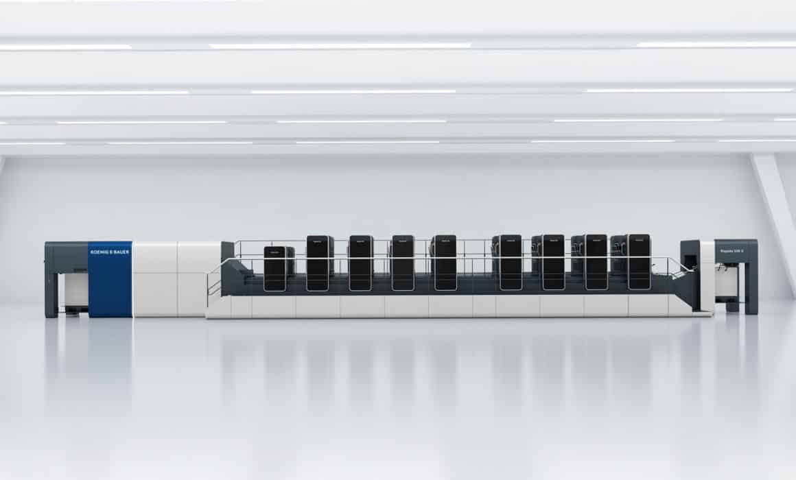 La nuova Rapida 106 X di Koenig & Bauer