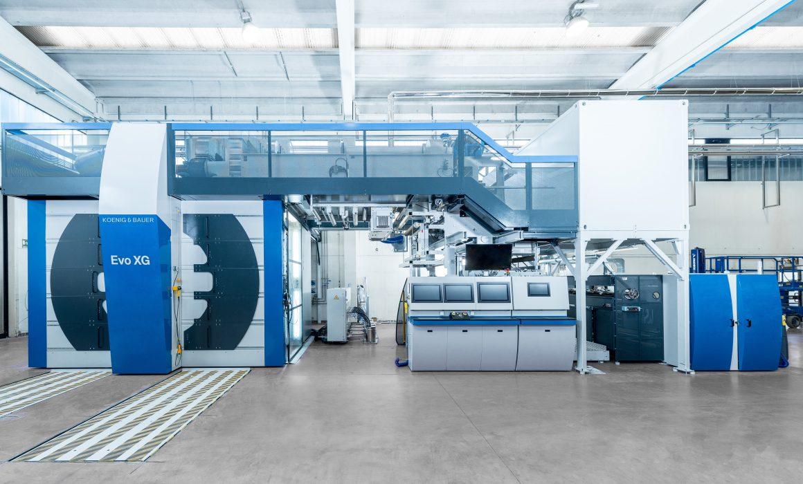 Macchina da stampa flessografica larga EVO XG