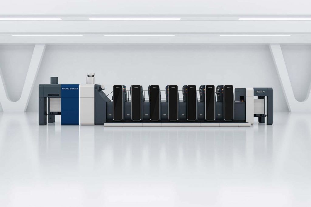 Rapida 76 di Koenig & Bauer di nuova generazione