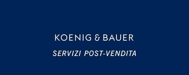 Koenig Bauer post-vendita