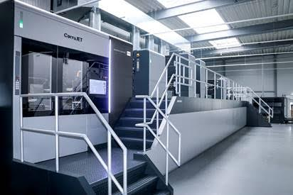 La CorruJET 170 in produzione presso la sede di Kolb