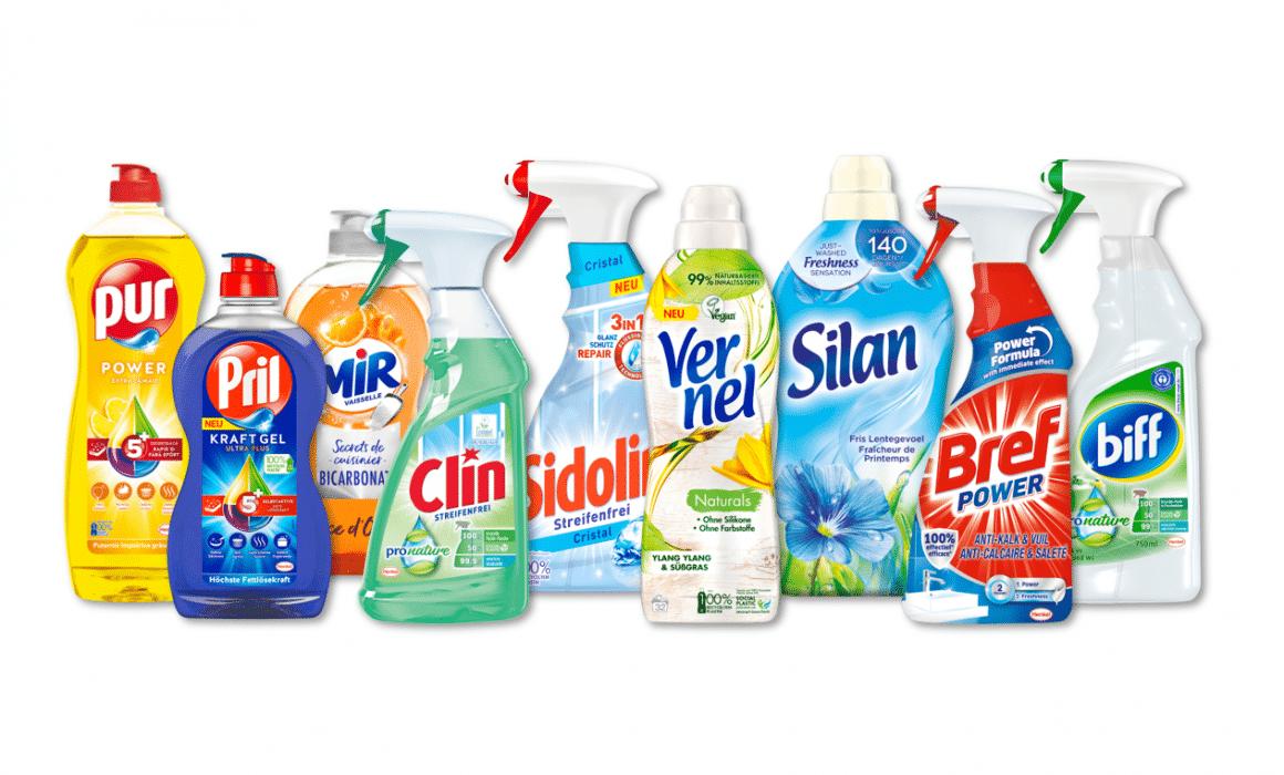 Portafoglio prodotti Laundry & Home Care di Henkel