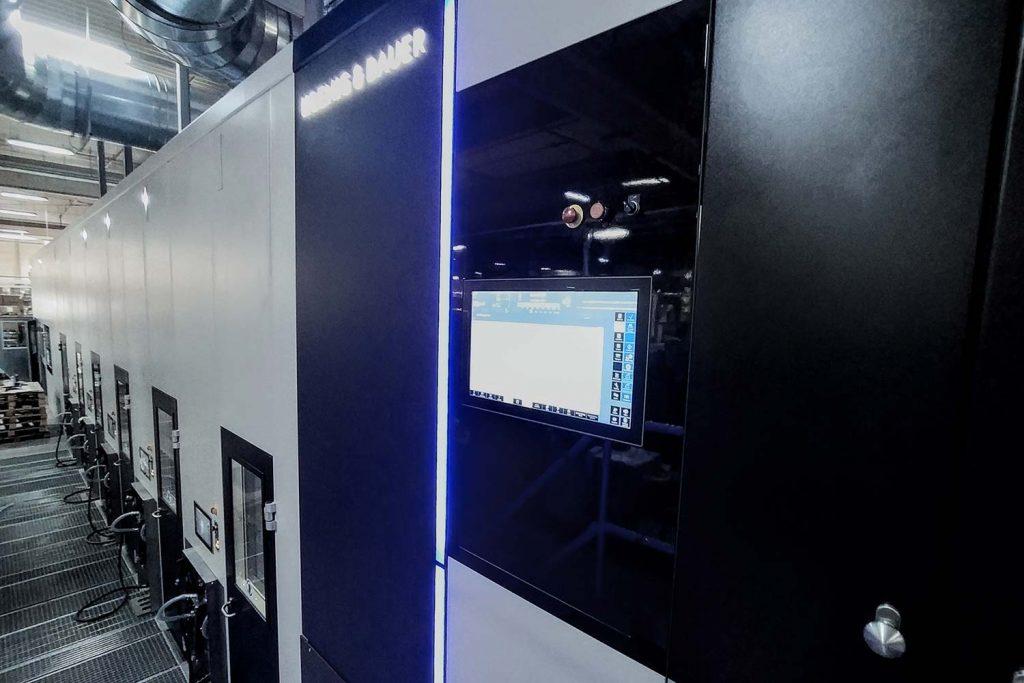 La prima CorruFLEX installata da Koenig & Bauer
