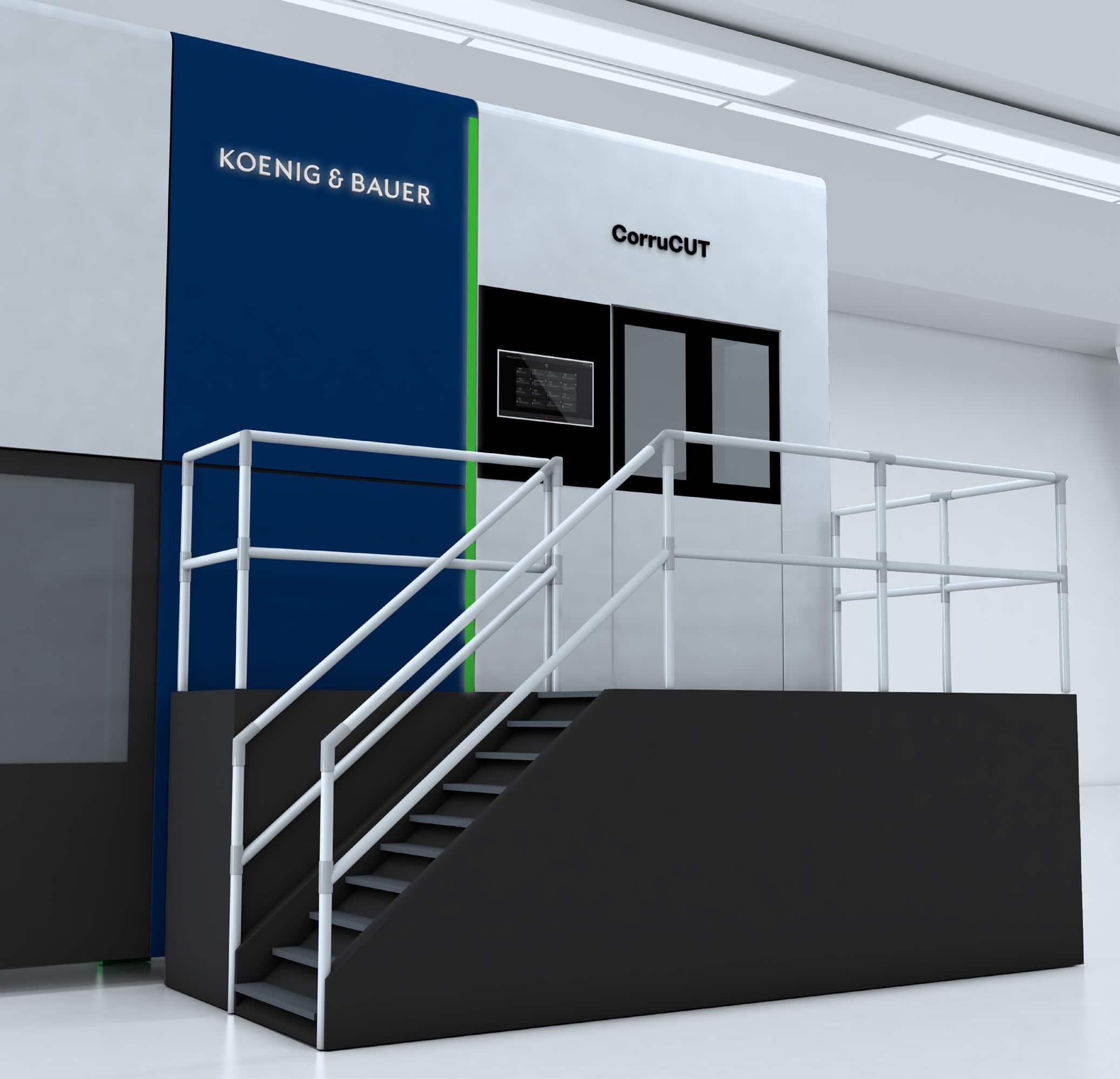 Dettaglio della CorruCUT di Koenig & Bauer