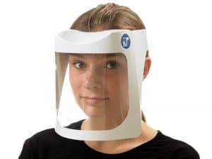 Fiber Shield di PAWI Packaging, visiera in cartoncino e PET m