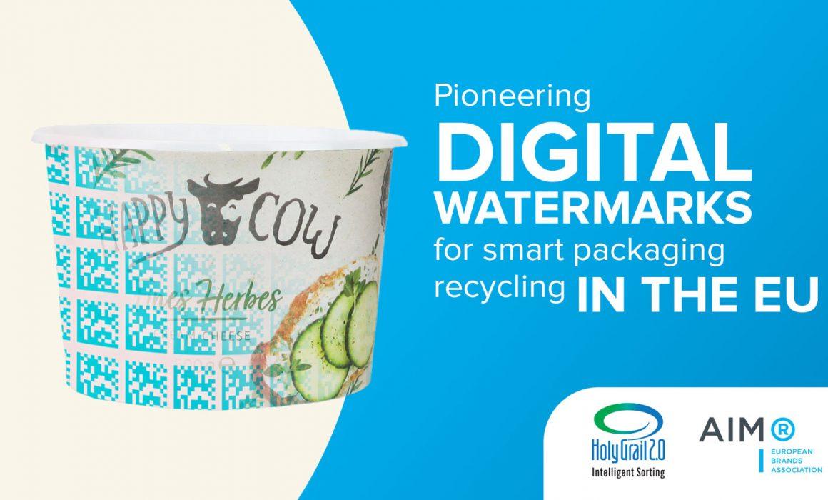Filigrana digitale - per un riciclaggio intelligente degli imballaggi