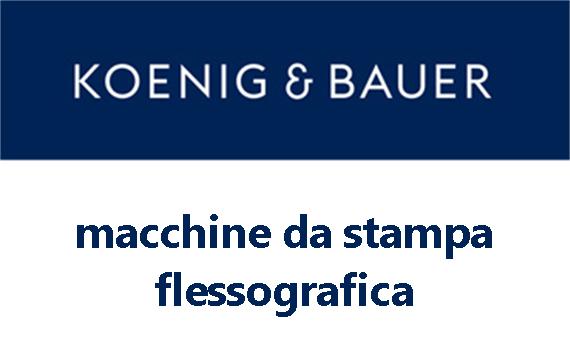 Logo Koenig & Bauer - macchine da stampa flessografica