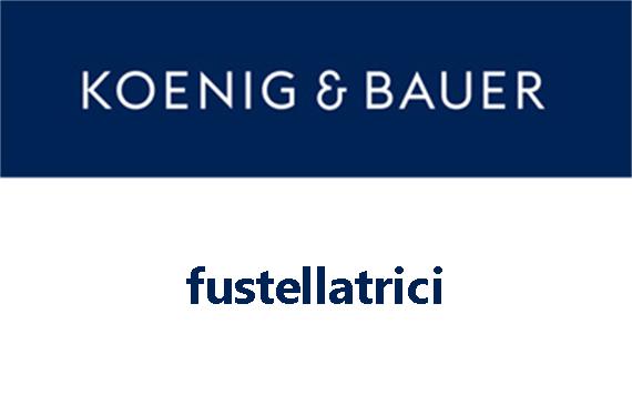 Logo Koenig & Bauer - fustellatrici